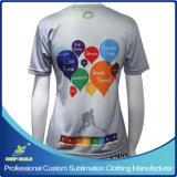 カスタム昇華ラクロッスはTシャツを遊ばす