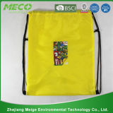 주문을 받아서 만들어진 190t/210d Polyester Bag Drawstring Backpack (MECO160)