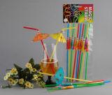 Cannuccia di plastica di serie della decorazione del partito, paglia pazzesca, paglia del fumetto