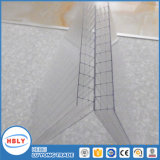 Hoja ULTRAVIOLETA del sólido del policarbonato del material para techos del material de construcción de la resistencia