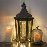 象牙の党およびホーム装飾のための移動Flameless柱LEDの蝋燭