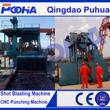 CER Q69 Rollen-Förderanlagen-Granaliengebläse-Maschine
