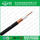 """50ohm 1/2 """" a ridé le câble coaxial de liaison de câble d'alimentation inétanche de rf"""