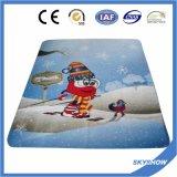 高品質の十分に印刷された羊毛毛布(SSB0102)