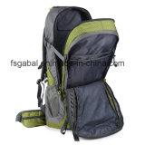 le croisement 75L professionnel dénomme sportif/augmenter le sac de sac à dos de sports en plein air