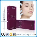 Enchimento cutâneo do ácido hialurónico de Reyoungel o melhor para a injeção da face (certificado do CE)