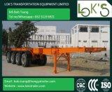 40feet vier de Semi Aanhangwagen van de Container van het Skelet van Assen