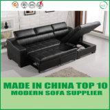 Base de sofá del almacenaje con la calesa