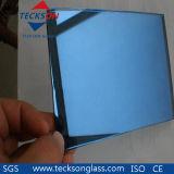 "vetro ""float"" riflettente blu scuro/in profondità blu di 4-6mm"