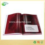 Impresión barata brillante del libro de la foto del Hardcover de Lamiantion (CKT-BK-001)