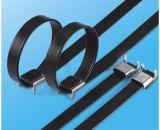 Fascetta ferma-cavo rivestita dell'acciaio inossidabile del PVC