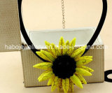 Girassol da glória/colar natural da pedra Necklace/Fashion Tophus (XJW13376)