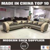 Divani europäisches Art-Ecken-Leder-Sofa (Lz824)