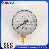 Montaggio inferiore degli strumenti di misura 1MPa di pressione