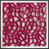 Шнурок гипюра полиэфира шнурка гипюра геометрического шнурка гипюра химически
