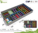 Kommerzieller preiswerter heißer Verkaufs-Minitrampoline-Park für Familie