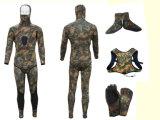 Stile Spearfishing, muta umida, attrezzatura per l'immersione, praticante il surfing, Wm025 di Camo di alta qualità