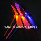 Giocattolo di filatura volante della libellula del LED
