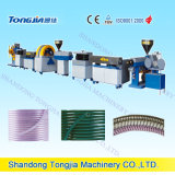 La fibra del PVC refuerza la máquina plástica del tubo de la máquina de la manguera