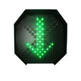 Подгонянный светофор станции пошлины стрелки зеленого цвета Красного Креста 600mm