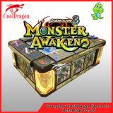 Máquina de juego de arcada del cazador del rey 3 pescado del océano