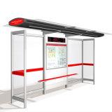 Calle al aire libre Muebles con energía solar Bus Shelter