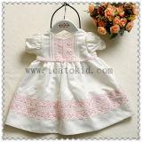 1 살 동안 Frock 디자인 복장 아기 옷 복장
