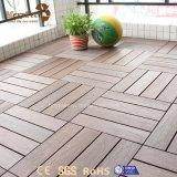 Azulejo de madera barato portable impermeable de la cubierta del hogar WPC para la venta