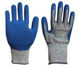 Werkende Handschoenen van de veiligheid van de Handschoen van de besnoeiing de Bestand voor de Handschoenen van het Latex van de Bescherming van de Hand