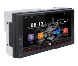 7inch navigation capacitive universelle 2DIN de véhicule du WiFi 2DIN Android6.0 de radio de tige de miroir de l'écran GPS Bluetooth
