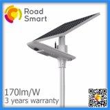 IP65 lampada solare del giardino della via del modulo LED con il comitato solare registrabile