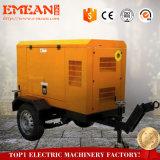 3 beweglicher Dieselgenerator-leiser Typ der Phasen-40kw Ricardo mit preiswertem Preis