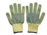 la chaîne de caractères 7g a tricoté Anti-A coupé le travail Glove-2304 de coton