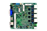 carte mère de haute performance de Quarte-Faisceau de carte mère de tablier des ports Ethernet 4*Gigabit