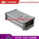 bloc d'alimentation antipluie de l'interpréteur de commandes interactif en aluminium continuel DEL de la tension 12V-120W