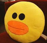 Emoji sveglio & cuscino molle animale della peluche