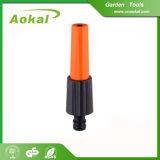Bocal plástico de alta pressão da mangueira de jardim do pulverizador de água para a mangueira de jardim