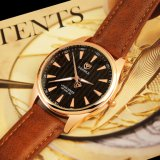 Impermeável luxuoso do relógio de pulso quente dos homens da venda H369 com o relógio luminoso do ponteiro para homens
