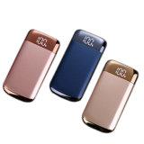 El nuevo tesoro de carga de gran capacidad del teléfono móvil batería móvil ultrafina de la potencia de 10000 del mililitro Digitaces del polímero
