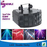 Doppio Derby indicatore luminoso di effetto del LED per la discoteca DJ (HL-055) della fase