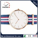 方法スポーツの腕時計の水晶ステンレス鋼の男性用レディース・ウォッチ(DC-648)
