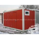 Projeto modular da casa do recipiente da família moderna do baixo custo