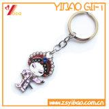 Trousseau de clés fait sur commande en métal de parapluie pour le cadeau de promotion (YB-LY-K-09)
