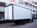 Corpo Refrigerated isolado sanduíche do caminhão de FRP-PU