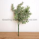 Flores artificiales de Bush de las hojas artificiales decorativas (SF15434)