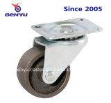 耐熱性固定鋳鉄の足車の車輪