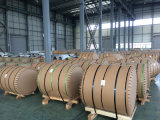 L'ACP emploient la bobine en aluminium de couleur en bois