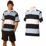 Camisa de polo multi del color del rugbi de la alta calidad de Fairlane del Mens (A485)