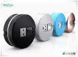 Новые 2 в 1 данном по USB Tranvelling & зарядный кабель с логосом промотирования (WY-CA26)