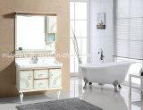 Governo di stanza da bagno smontabile di vendita caldo del PVC di stanza da bagno del Governo della stanza da bagno dello specchio del piede moderno del Governo
